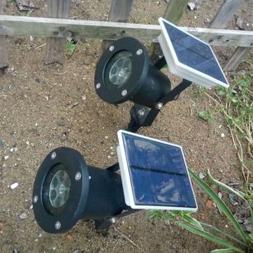 Solar juleprojektor Light